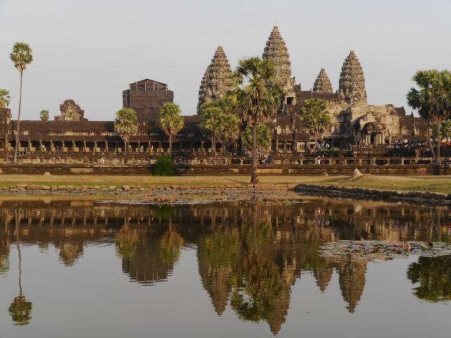 Angkor Wat Seerosenteich