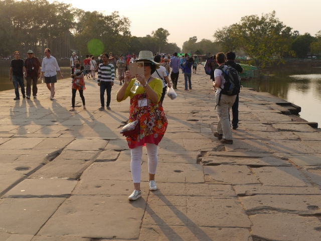 Angkor Wat Brücke