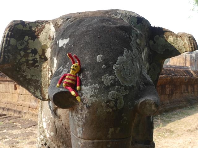 Angkor Wat Elefant