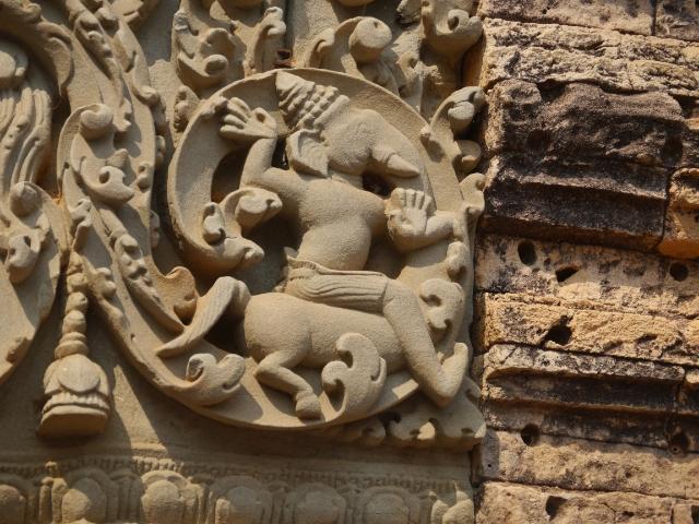 Angkor Wat Hindu Motive