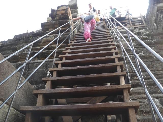 Angkor Wat Treppe