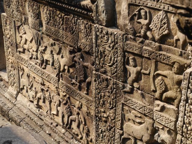 Angkor Wat Steinmetzarbeiten