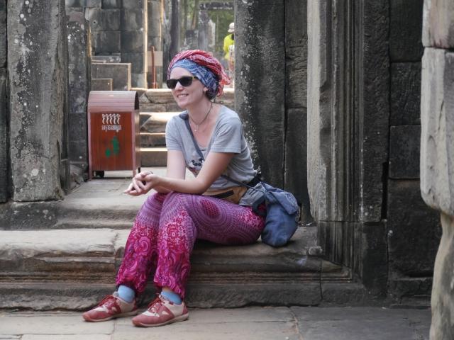 Angkor Wat Pause