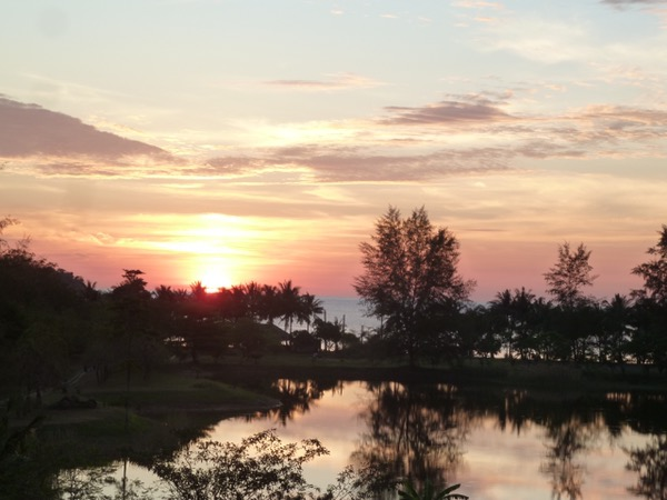 Sonnenuntergang in Koh Chang