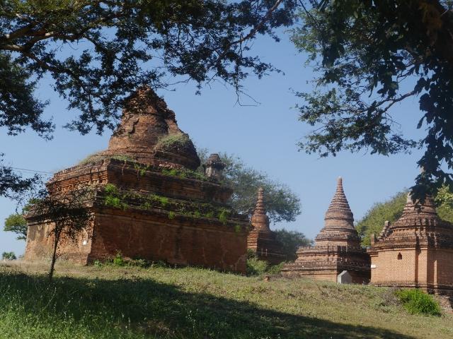 Reisekosten Myanmar Ruinen