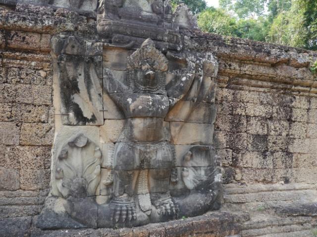 Angkor Wat Garuda