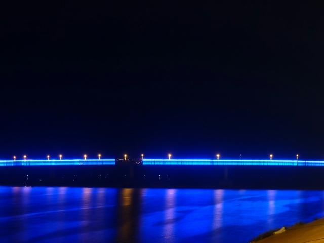 Kampong Cham nachts