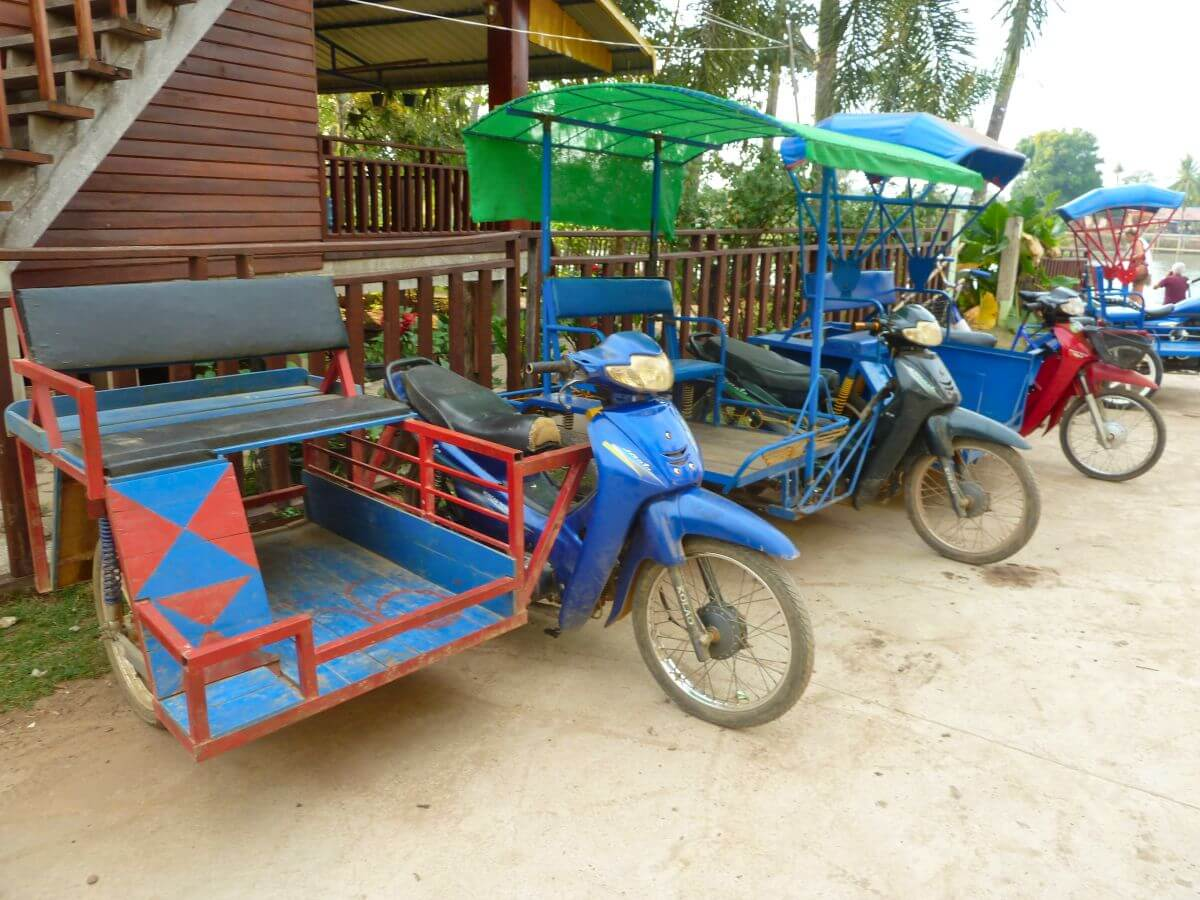 Motorroller mit Beiwagen
