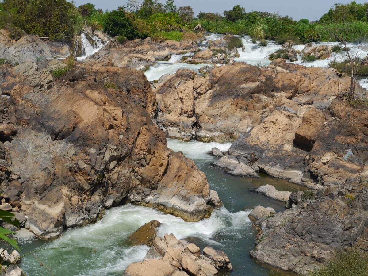Noch mal die Wasserfälle