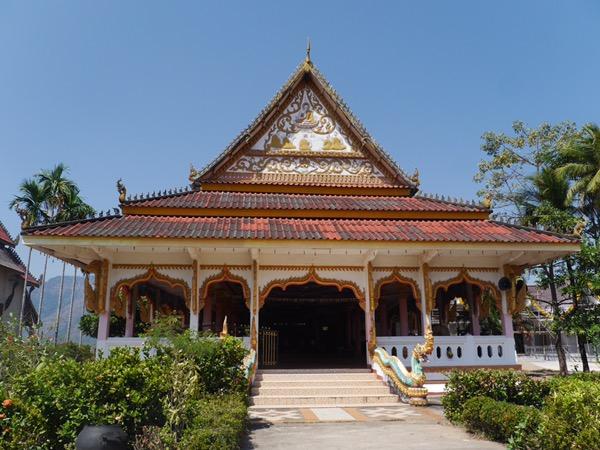 Bunter Tempel.