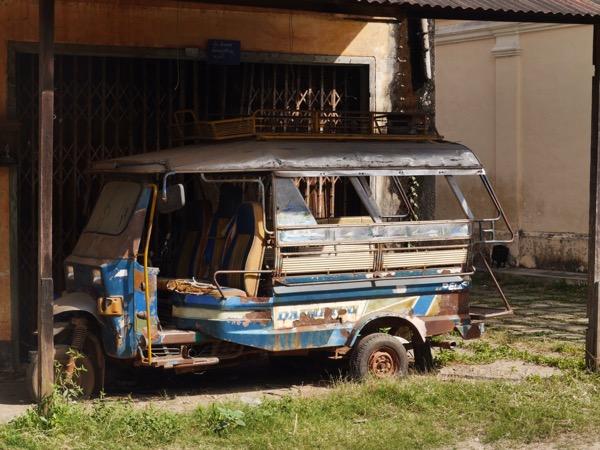 Rostiges Tuktuk.