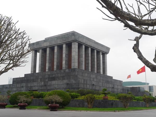 Ho-Chi-Minh Mausoleum.