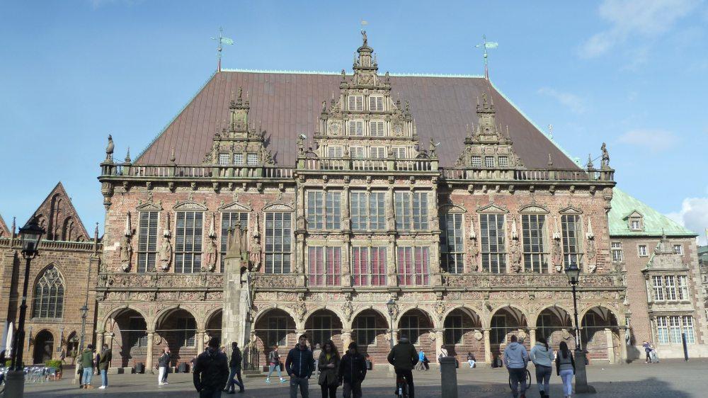 Rathaus in Bremen.