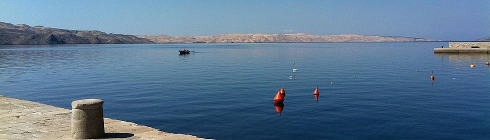 Rab– Wandern und Seekajak fahren in Kroatien