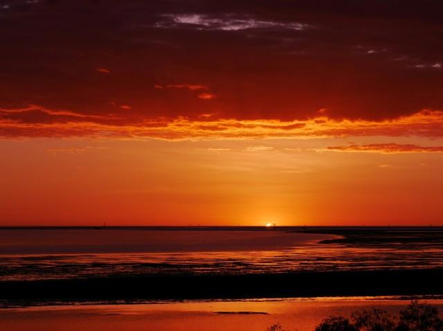 Sommerfotos Sonnenuntergang