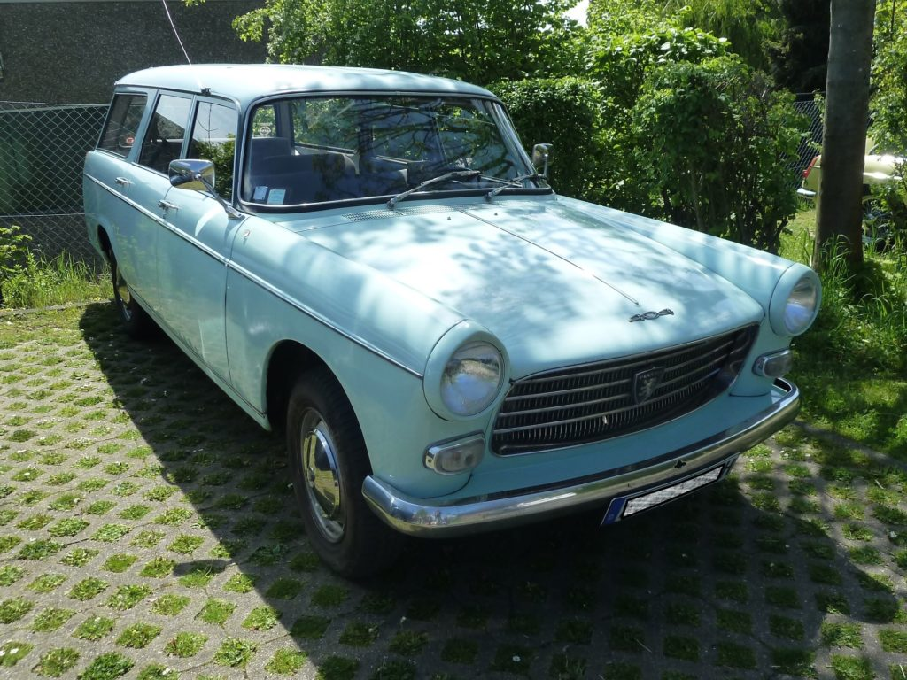 Oldtimer Solingen Peugeot 404