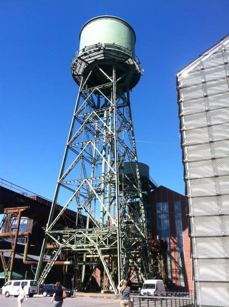 Industriekultur Jahrhunderthalle Bochum Wasserturm