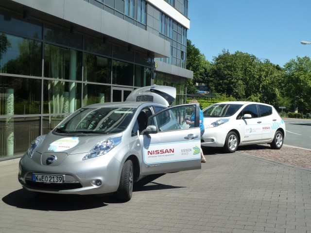 Grüne Hauptstadt Essen Elektroautos