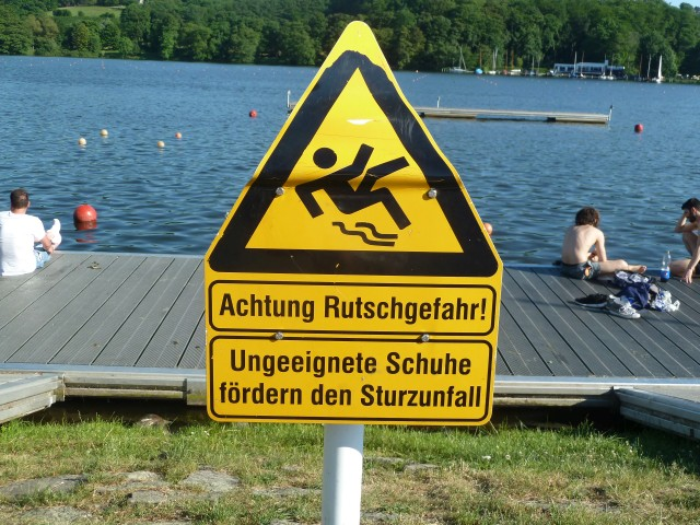 Weltreise Rückkehr Deutschland Schild deutsch
