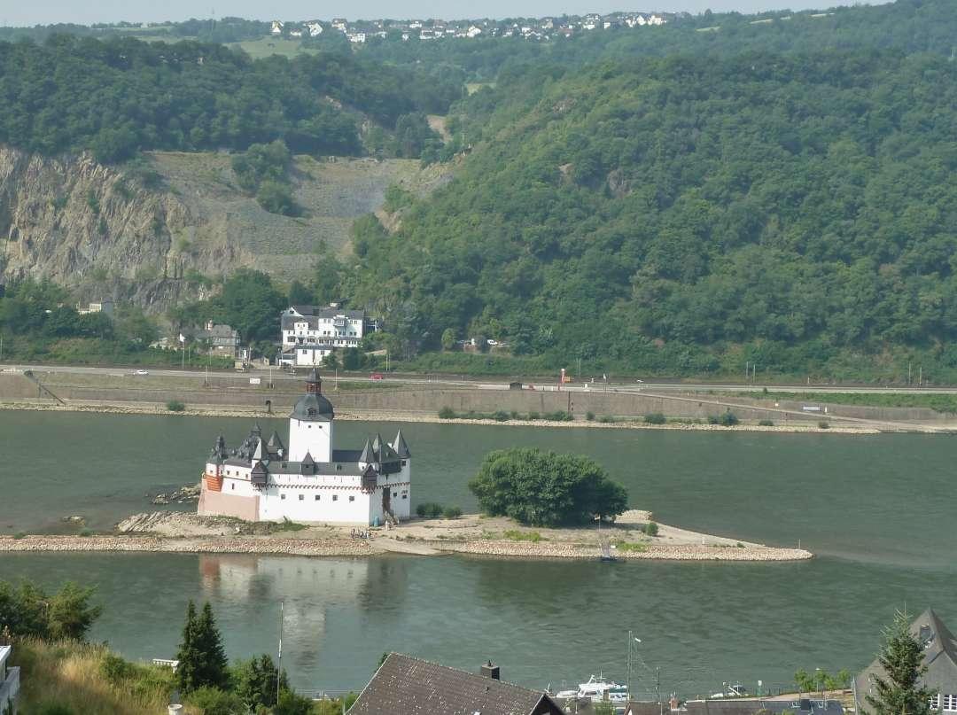 Rheinsteig Kaub Pfalzgrafenstein