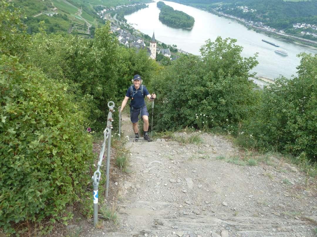 Rheinsteig Lorch Klettersteig
