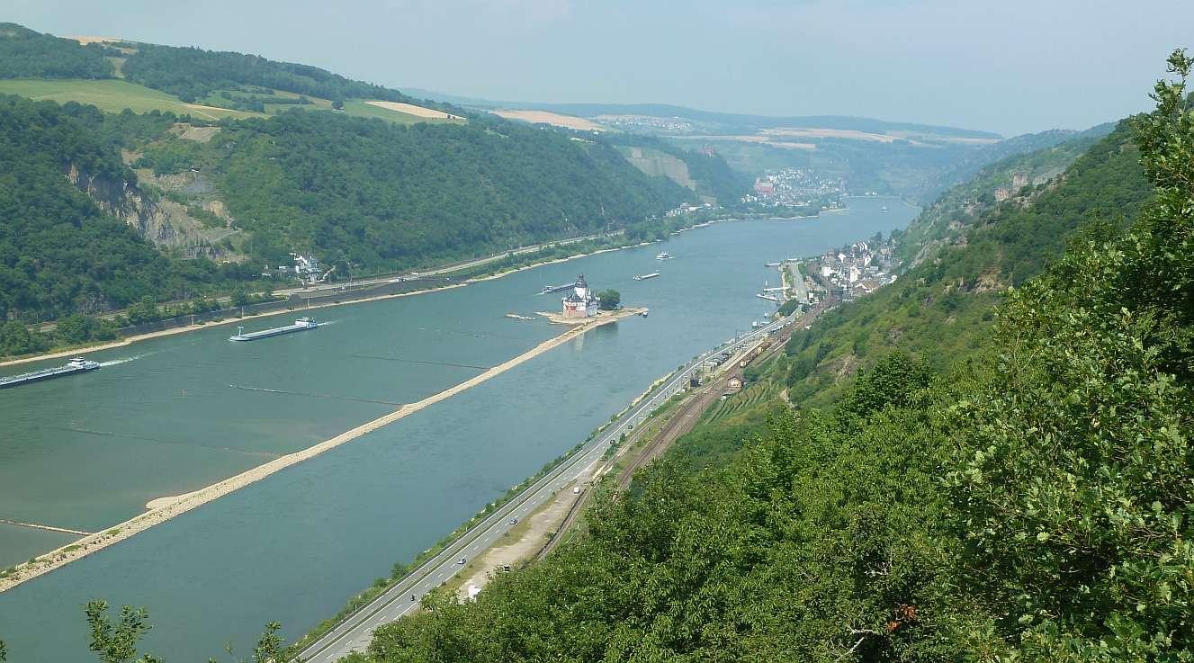 Rheinsteig wandern am Wochenenende – zwei Etappen am Mittelrhein