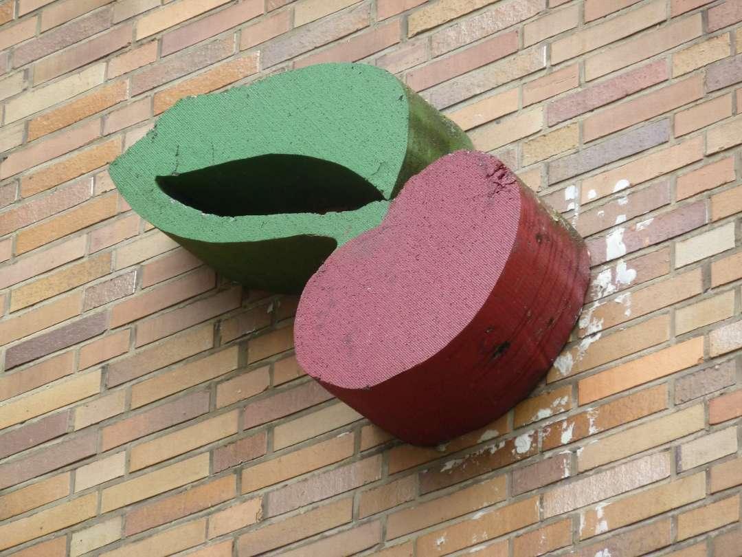 Hannover Street Art Kirsche
