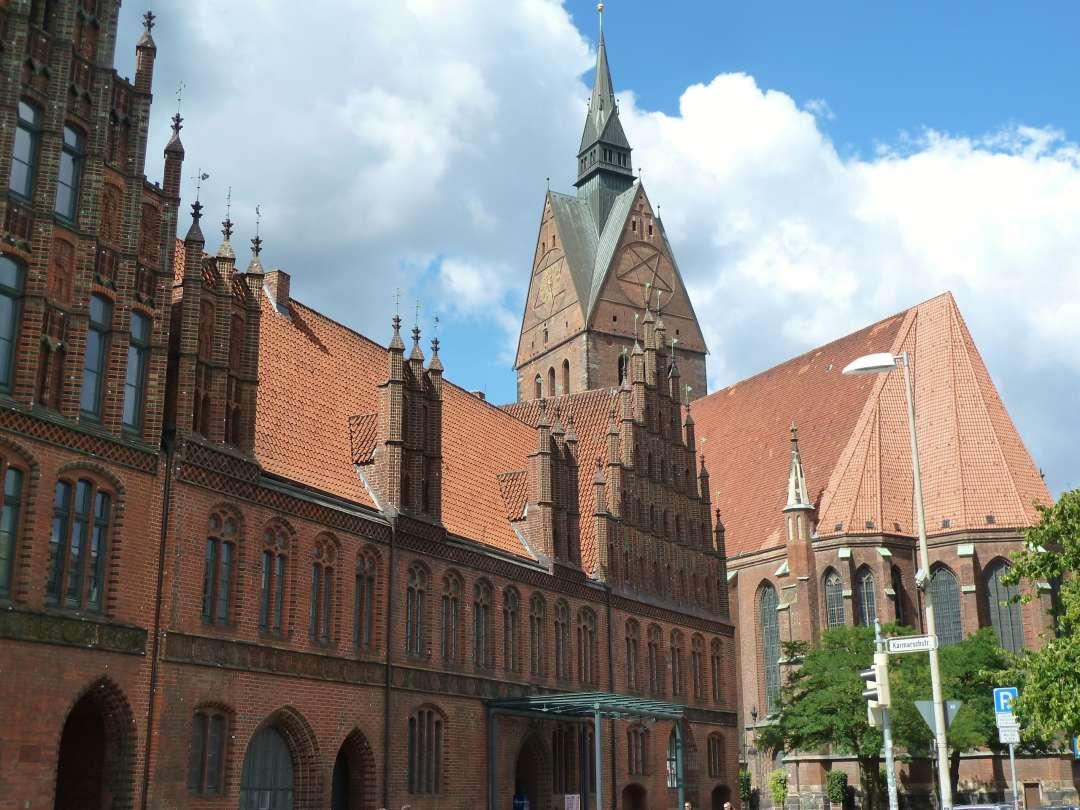 Hannover Marktkirche Altes Rathaus