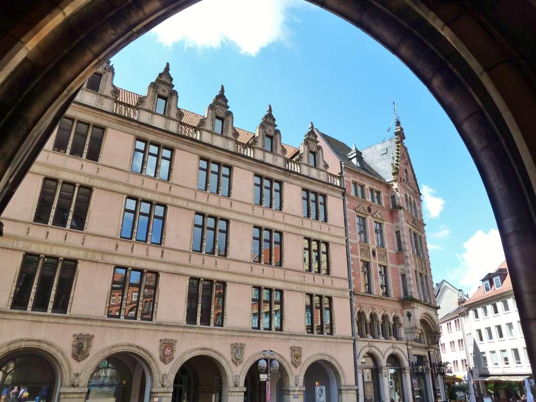 Hannover Altstadt Fassaden
