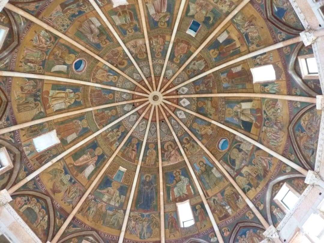 Innenkuppel des Baptisteriums