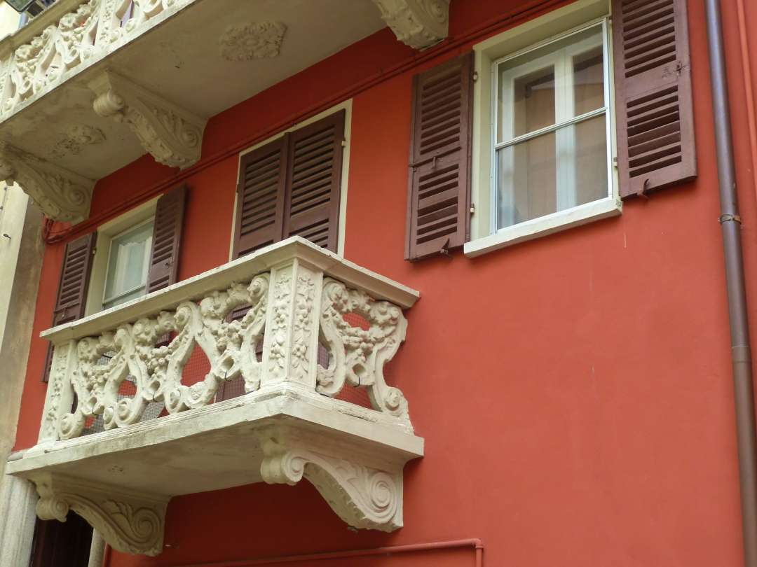 Balkon in Bardi