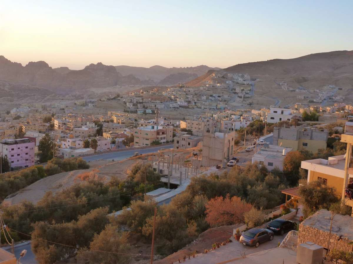 Wadi Musa in sanftem Licht
