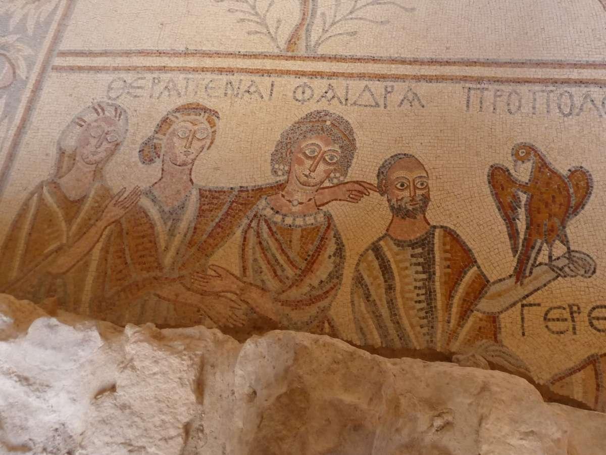 Mosaikbild mit vier Personen