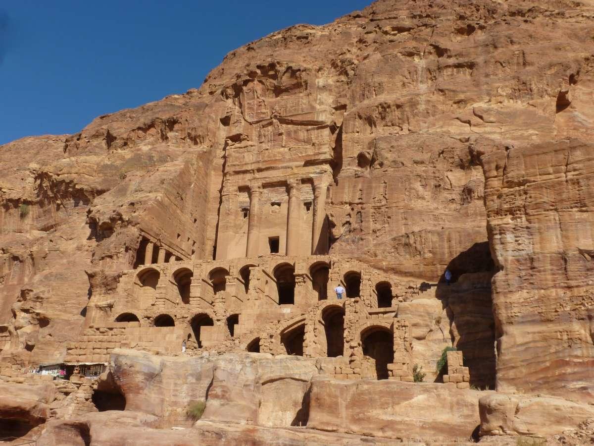 Das Urnengrab in Petra