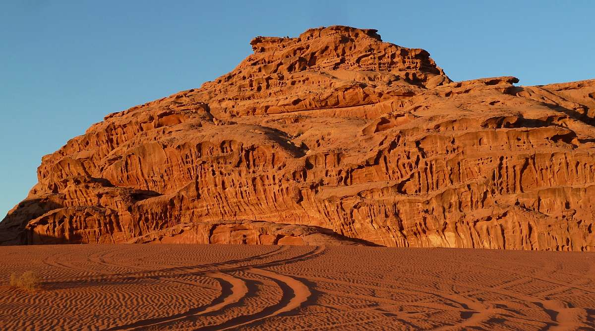 Wüste Wadi Rum
