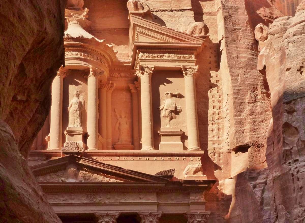 Das Schatzhaus des Pharao in Petra
