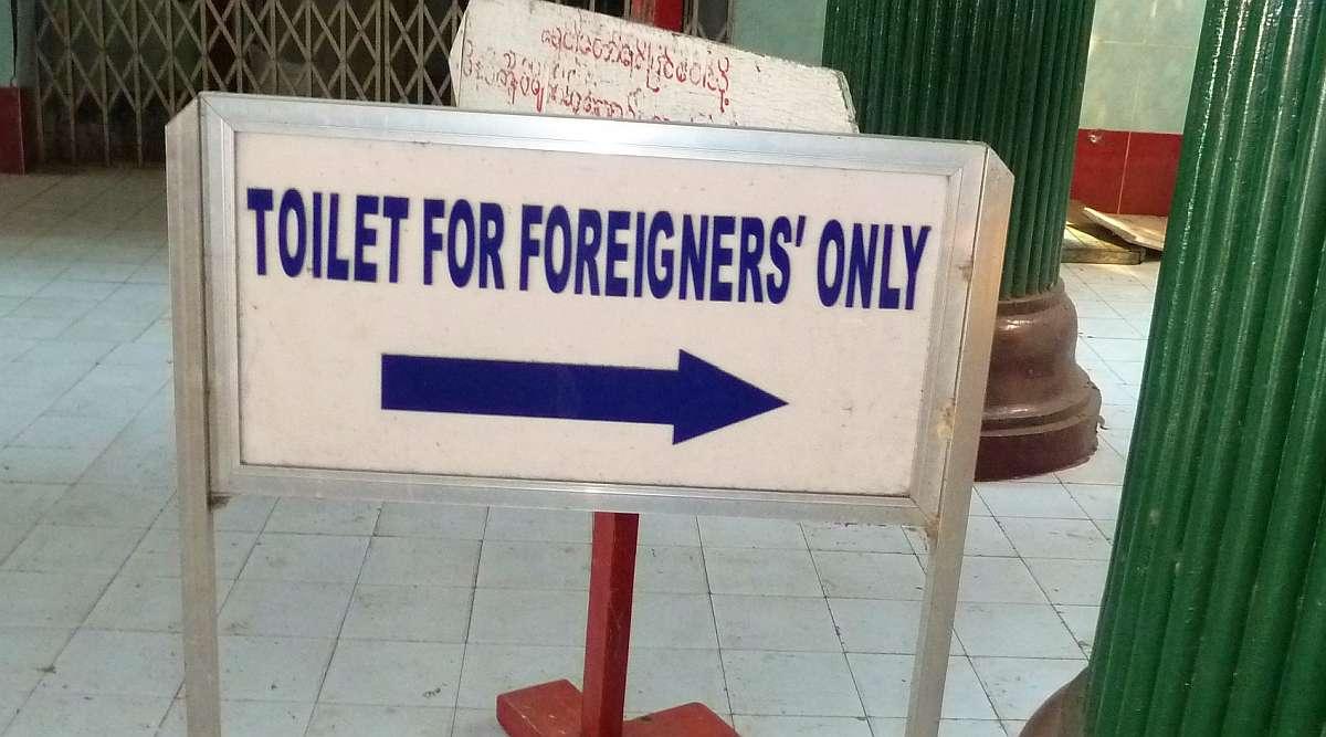 Popodusche und Hocktoilette – wie du eine asiatische Toilette benutzt