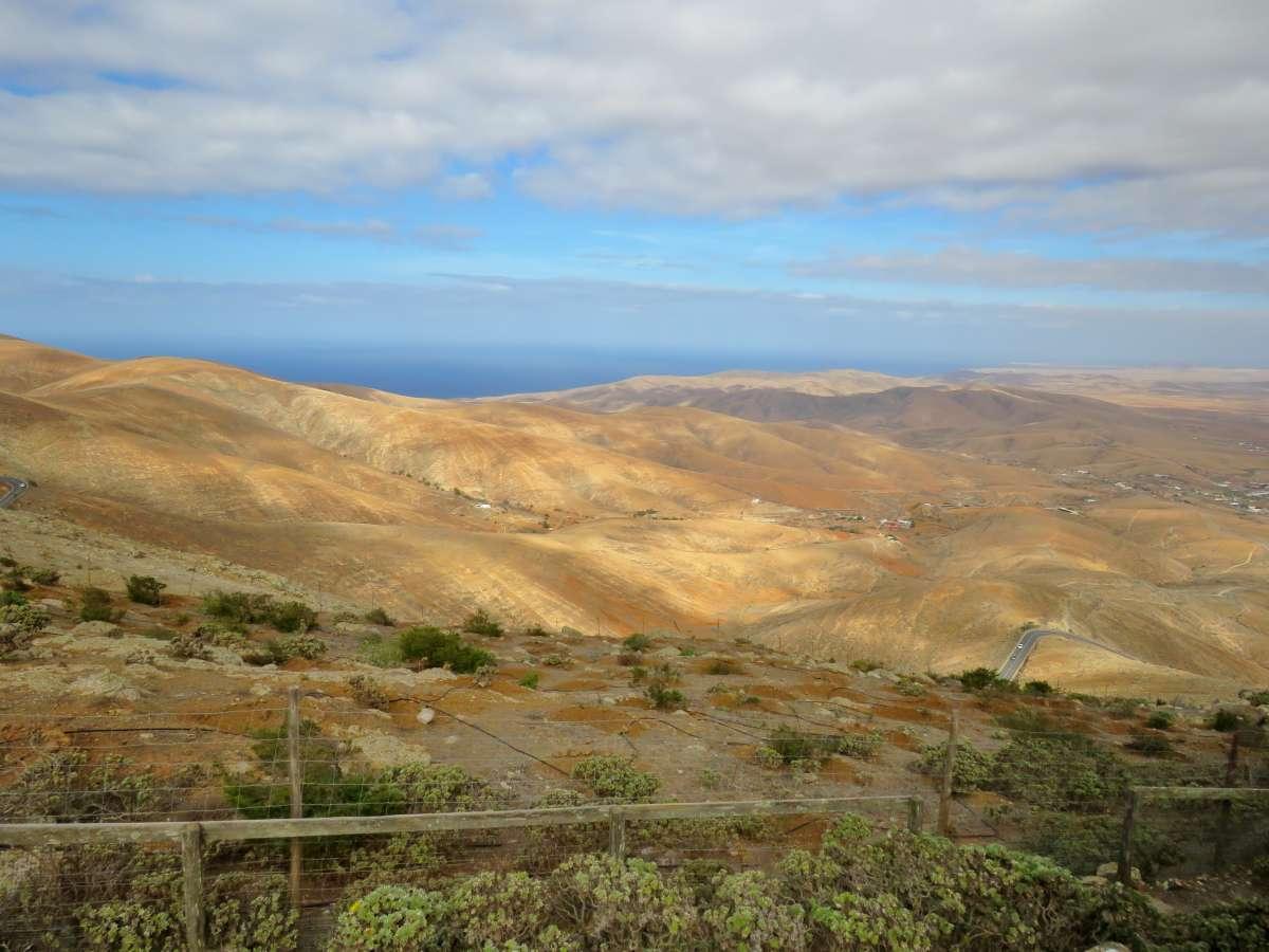 Blick vom Morro Velosa über Fuerteventura