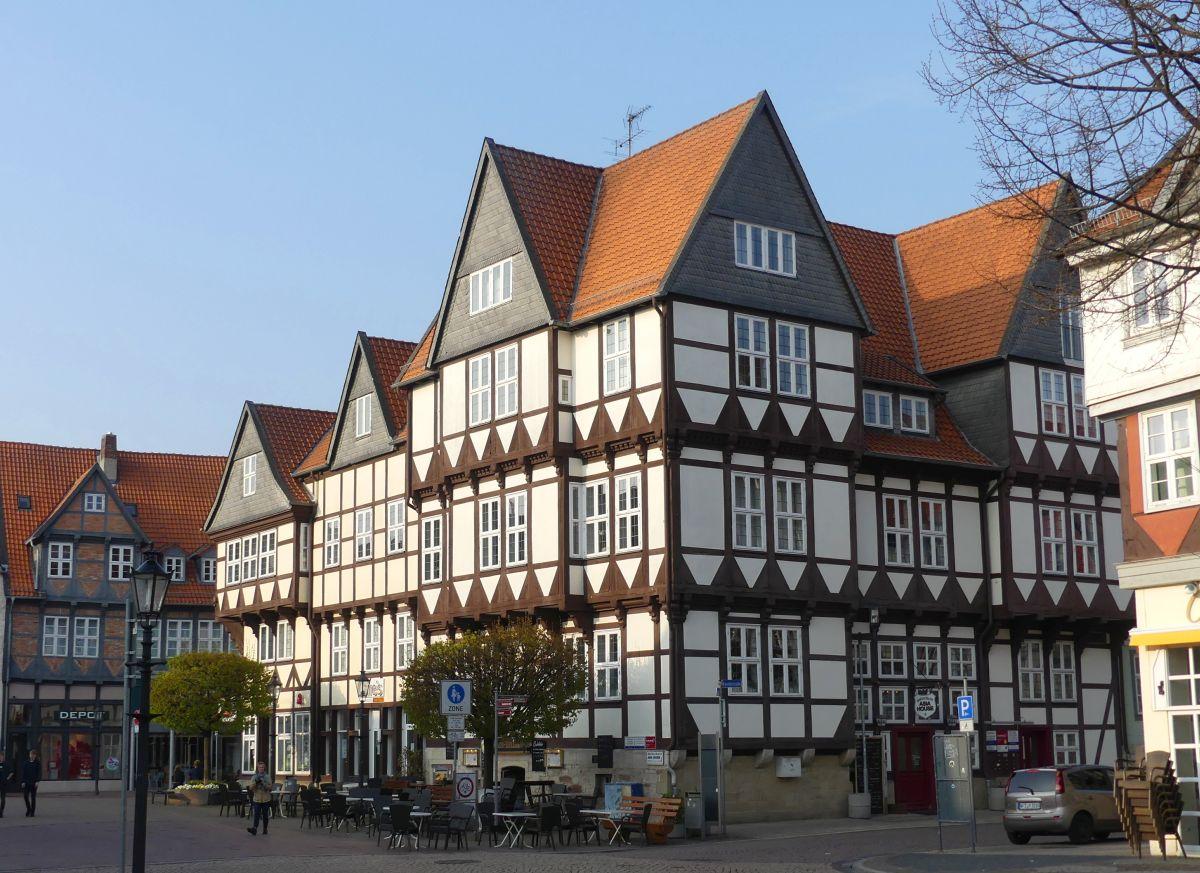 Fachwerkhäuser am Stadtmarkt