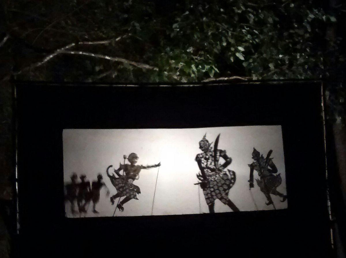 Schattentheater in Laos