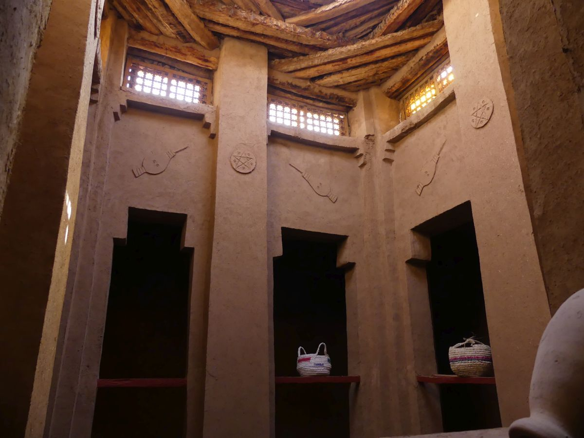 Innenhof der Kasbah