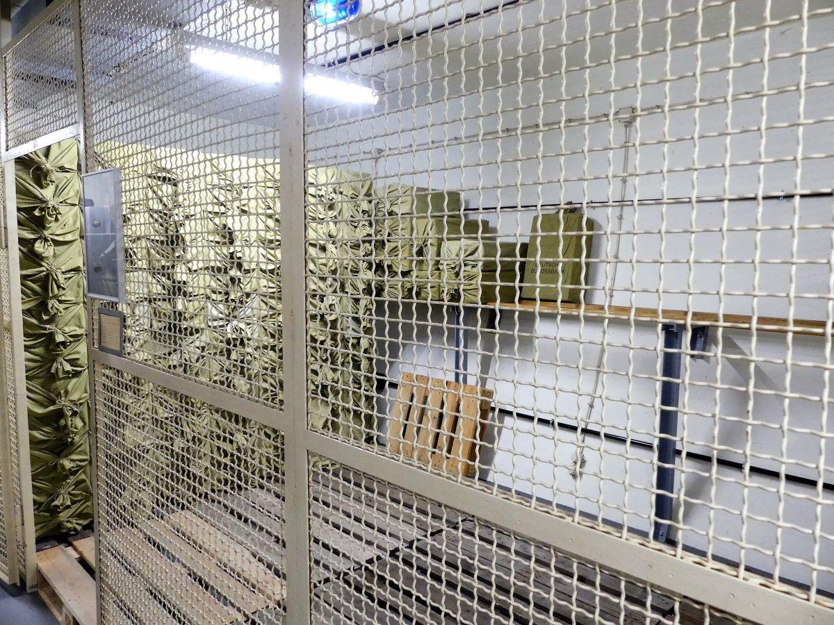 Lagerräume für die Ersatzwährung