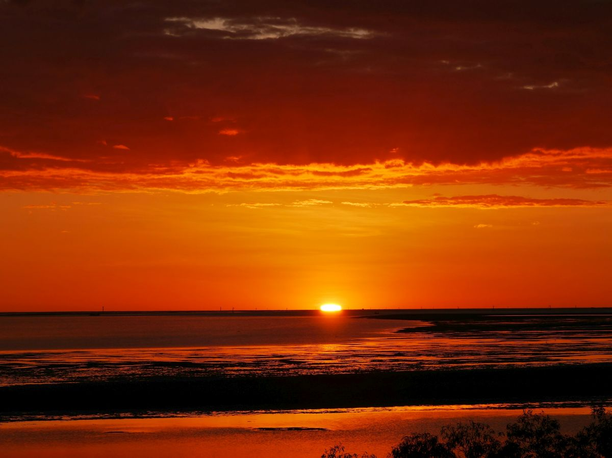 Sonnenuntergang am Gulf of Carpentaria