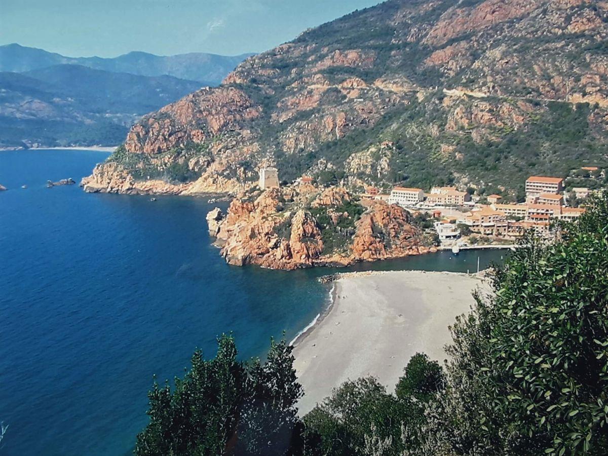 Porto an der Westküste Korsikas