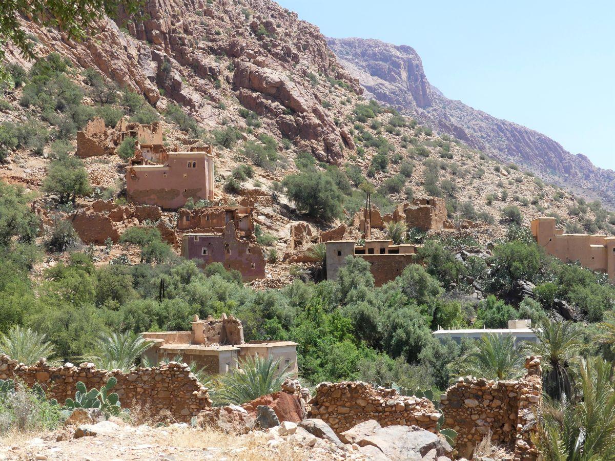 Kleine Dörfer im Tal der Ammeln