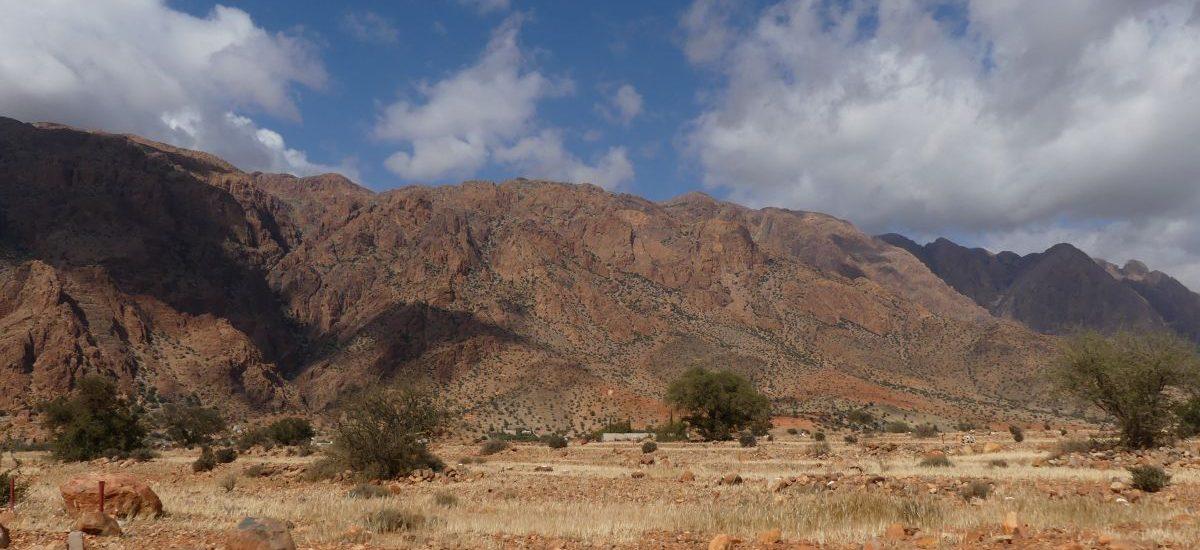 rötliche Berge im Anti-Atlas