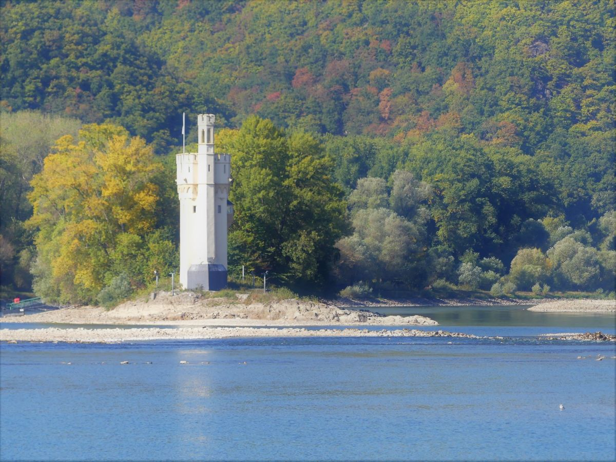 Der Mäuseturm im Rhein vor Bingen