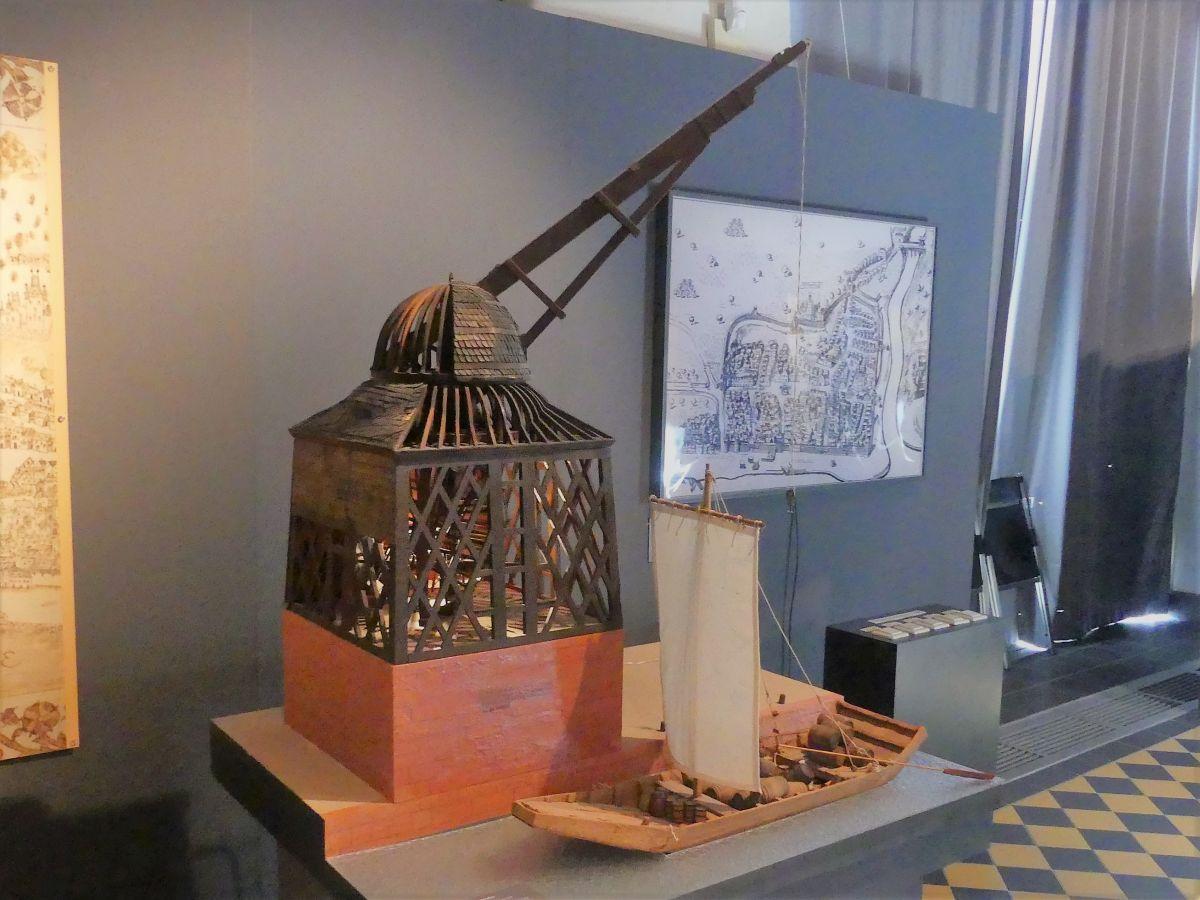 Modell des alten Rheinkrans