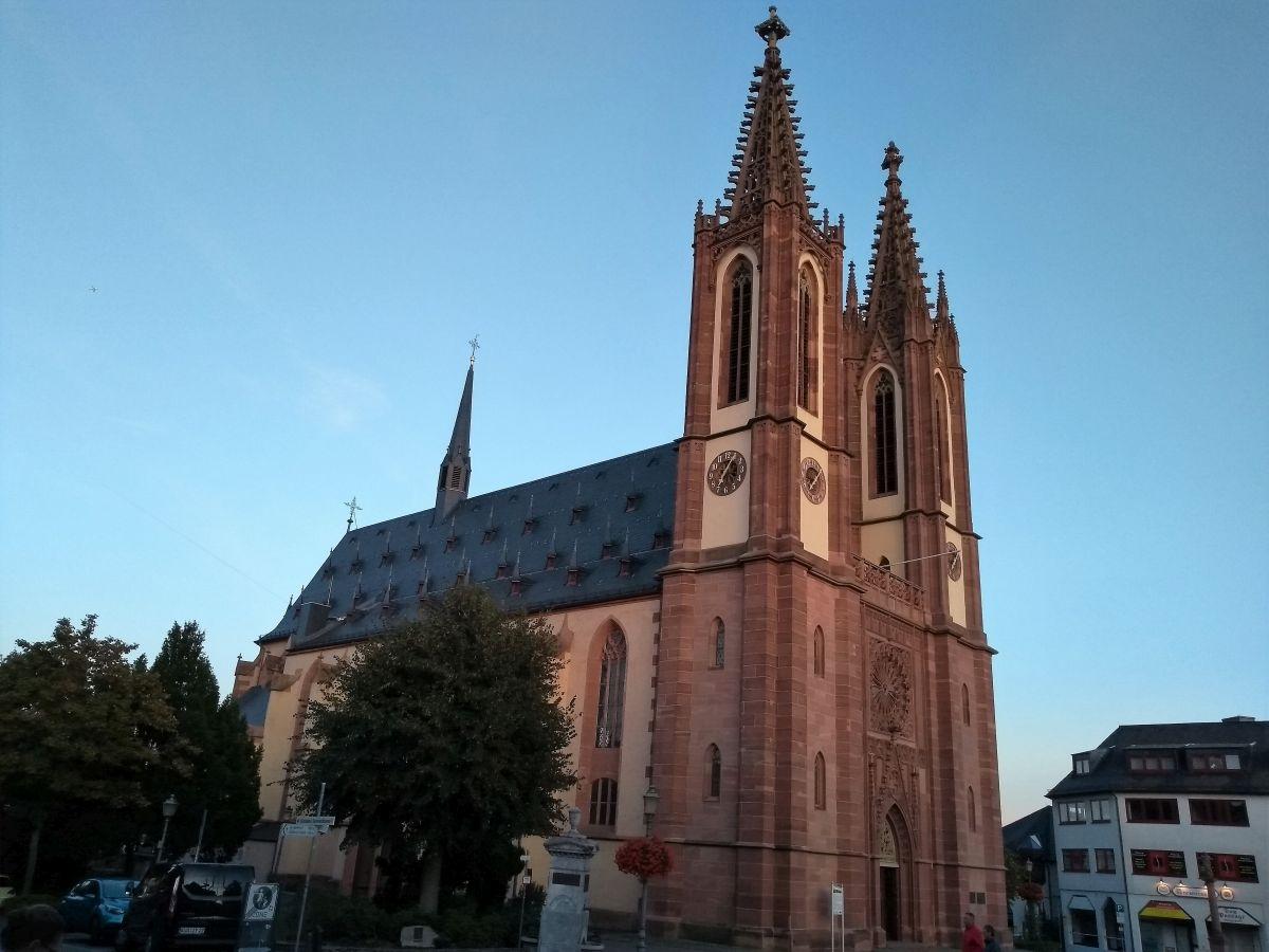 Der Rheingauer Dom in Geisenheim