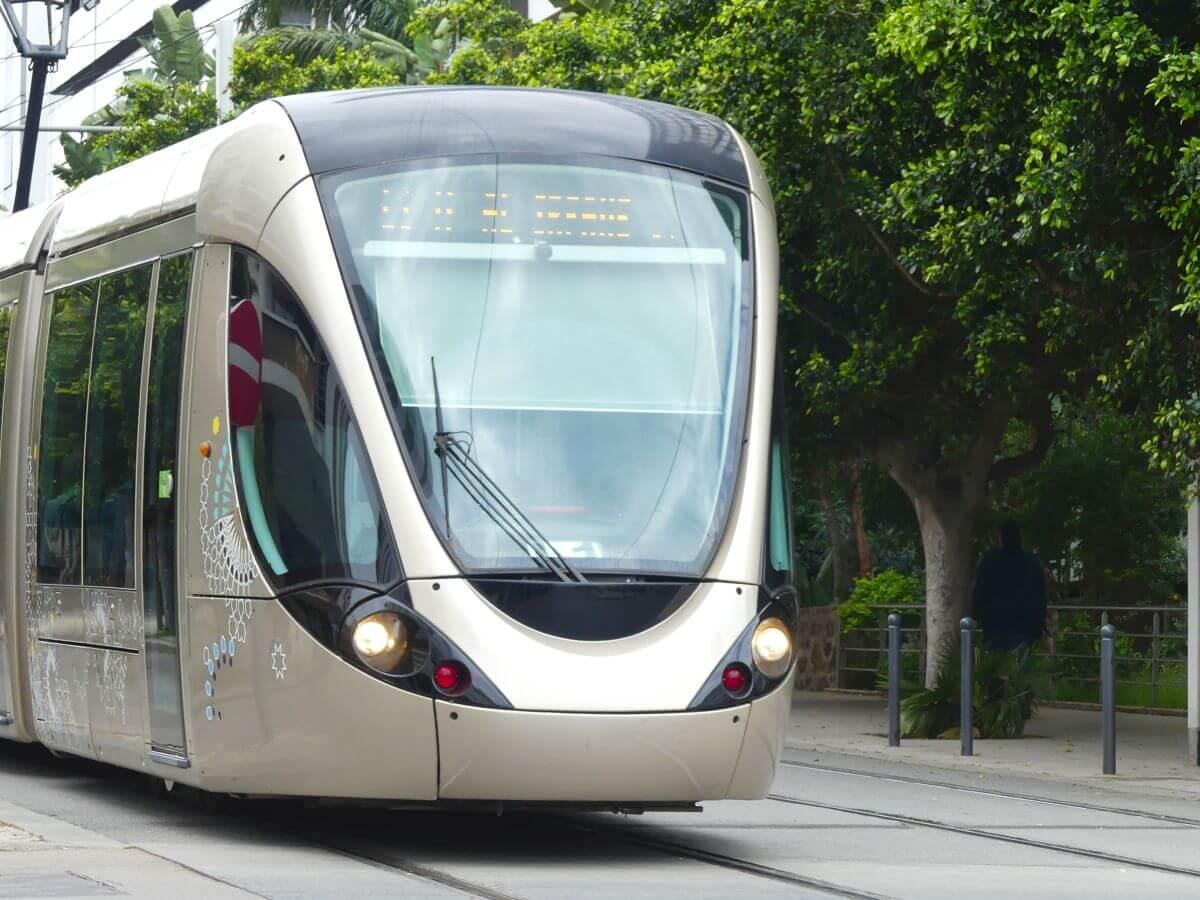 Moderne Straßenbahn